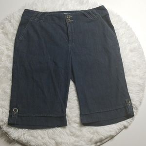 Tribal Jean's Bermuda Shorts Size 10